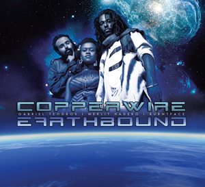 Earthbound by CopperWire: Gabriel Teodros, Meklit Hadero, Burntface cover image
